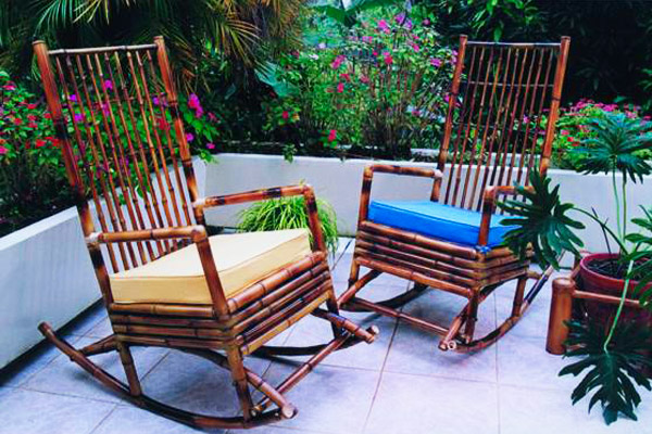 Muebles de bambú - Bamboo furniture