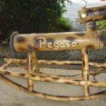 caballo de bambú -