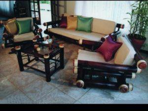 juego de sala tropical - living room furniture