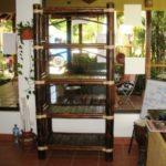 librero rústico - rustic bookcase