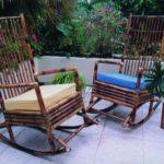 mecedoras sencillas -Bamboo Deck and Pool Furniture