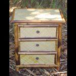mesa 3 gavetas petate - 3 drawer table