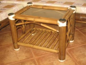 mesa centro multiuso con amarras - multipurpose table