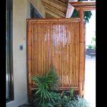 pared de bambú - bamboo wall
