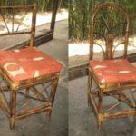 silla curva y silla arco pavo real
