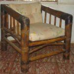 sillón rústico excuadra - rustic armchair