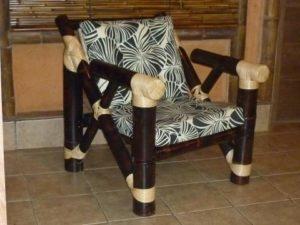 sillón rústico safari - rustic armchair