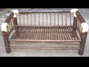sofá doble rústico escuadra - rustic double sofa