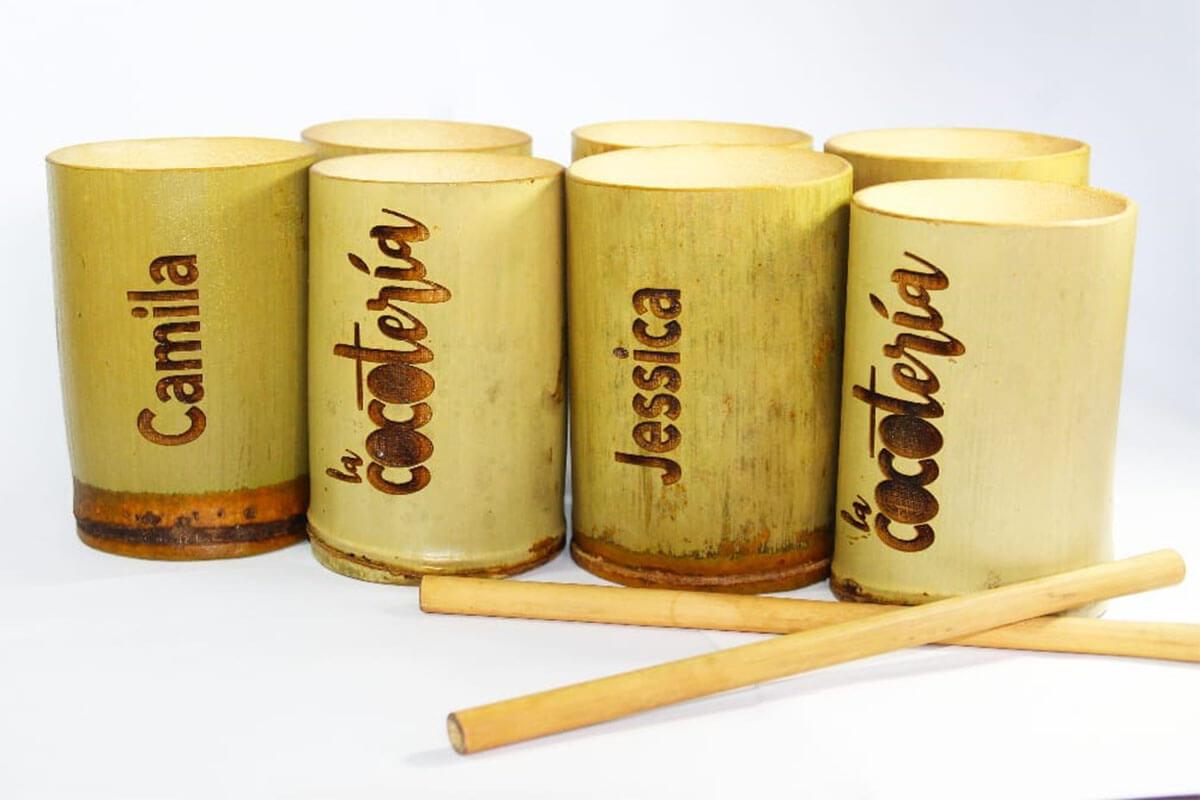 El bambú en la manufactura de artesanías