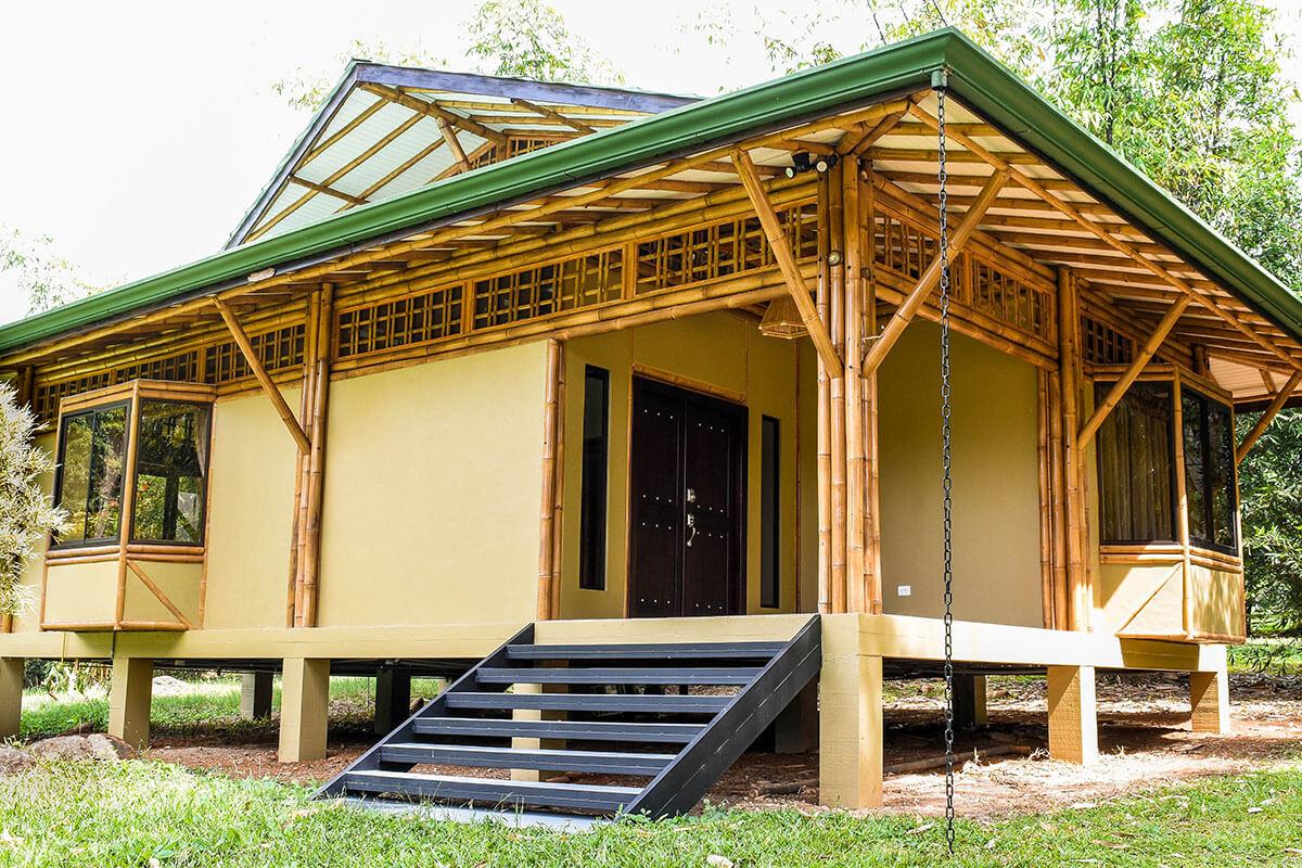 Eco construcción con bambú en Costa Rica
